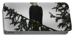 Bald Eagle Watching Portable Battery Charger