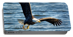 Bald Eagle With Fish Portable Battery Charger