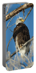 Bald Eagle With Pogo Nip Portable Battery Charger