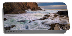 Bald Head Cliff Portable Battery Charger by Rick Berk