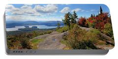 Bald Mountain Autumn Panorama Portable Battery Charger