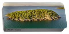 Bald Pocupine Island, Bar Harbor Portable Battery Charger