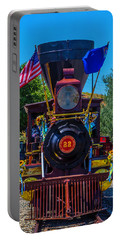 Baldwin Locomotive 22 Gingerbread Portable Battery Charger