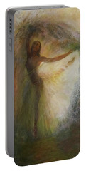 Ballet Dancer's Silhouette Portable Battery Charger