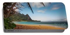 Bali Hai Tunnels Beach Haena Kauai Hawaii Portable Battery Charger