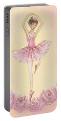 Ballerina Beauty Painting Portable Battery Charger