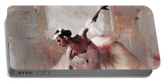 Ballerina Dance On The Floor 02 Portable Battery Charger by Gull G