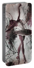 Ballerina Dance Painting 0032 Portable Battery Charger by Gull G
