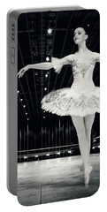 Portable Battery Charger featuring the photograph Ballerina by Dimitar Hristov