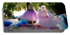 Ballerina Dresses Portable Battery Charger