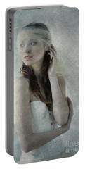 Ballerina In Morning Light Portable Battery Charger