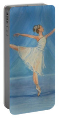 Ballet Blues Portable Battery Charger
