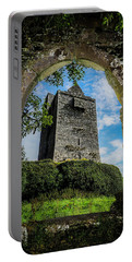 Portable Battery Charger featuring the photograph Ballinalacken Castle In County Clare, Ireland by James Truett
