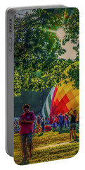 Portable Battery Charger featuring the photograph Balloon Fest Spirit by Kendall McKernon