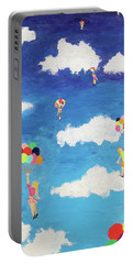 Balloon Girls Portable Battery Charger