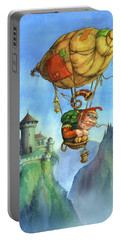 Balloon Ogre Portable Battery Charger by Andy Catling