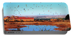 Balloon Reflections Portable Battery Charger by Gina Savage