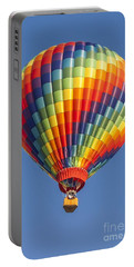 Ballooning In Color Portable Battery Charger