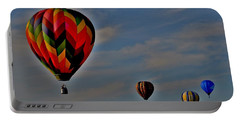 Balloons In The Sky Portable Battery Charger