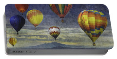Balloons Over Sister Mountains Portable Battery Charger