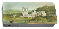 Balmoral Castle, Scotland Portable Battery Charger by English School