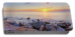 Portable Battery Charger featuring the photograph Baltic Sunrise by Dmytro Korol