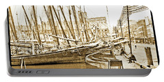 Baltimore Harbor 1900 Vintage Photograph Portable Battery Charger