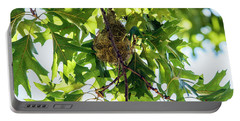 Baltimore Oriole Nest Portable Battery Charger