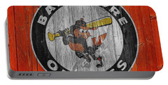 Baltimore Orioles Graphic Barn Door Portable Battery Charger