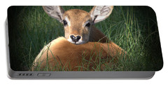 Bambi Portable Battery Charger by Kim Henderson