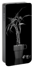 Bamboo Plant Portable Battery Charger