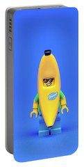 Banana Man Portable Battery Charger by Samuel Whitton