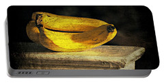Portable Battery Charger featuring the photograph Bananas Pedestal by Diana Angstadt