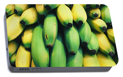 Bananas Portable Battery Charger by Happy Home Artistry