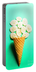 Bananas Over Sorbet Portable Battery Charger