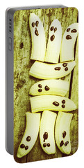 Bananas With Painted Chocolate Faces Portable Battery Charger