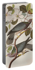 Band-tailed Pigeon  Portable Battery Charger by John James Audubon
