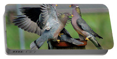 Band-tailed Pigeons #1 Portable Battery Charger