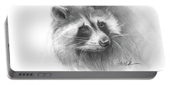 Bandit The Raccoon Portable Battery Charger