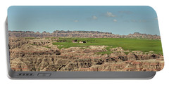 Badlands Panorama Portable Battery Charger by Nancy Landry