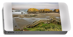 Bandon Beach Stairway Portable Battery Charger