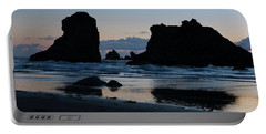 Bandon Oregon Sea Stacks Portable Battery Charger