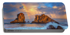 Bandon Rainbow Portable Battery Charger by Darren White