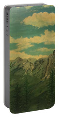 Banff Portable Battery Charger by Terry Frederick