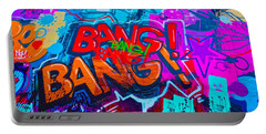 Bang Graffiti Nyc 2014 Portable Battery Charger