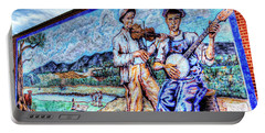 Banjo Mural Portable Battery Charger