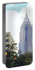 Bank Of America Building Atlanta Portable Battery Charger