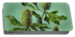 Banksias Australian Flora Painting Portable Battery Charger