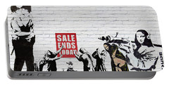 Banksy - Saints And Sinners   Portable Battery Charger