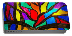 Banyan Tree Abstract Portable Battery Charger